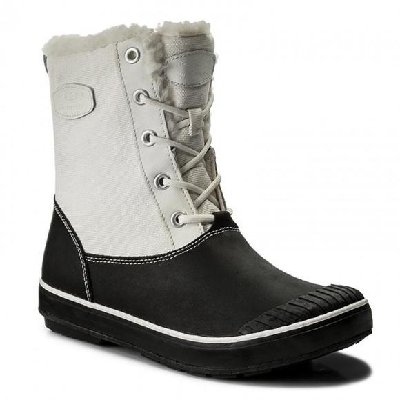 KEEN Elsa waterproof winter snow boots, 8.